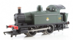 Hornby R2665 OO Scale 0-4-0T Industrial Steam Locomotive BR Green Livery Number 328